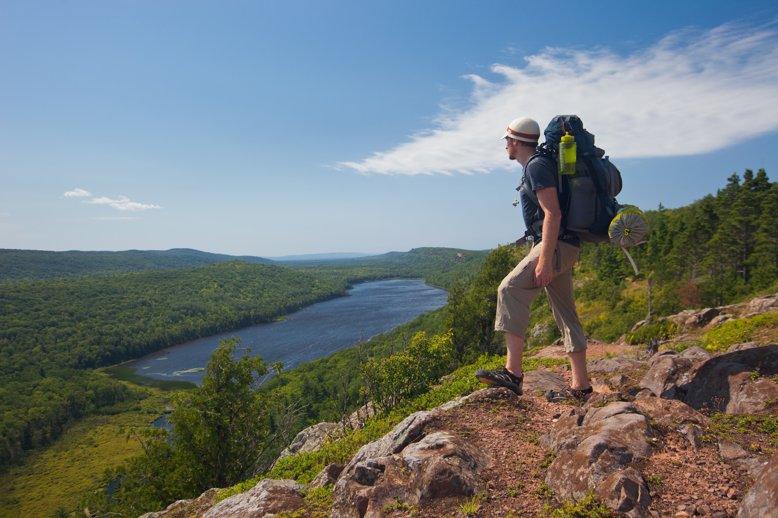 hiking in the upper peninsula