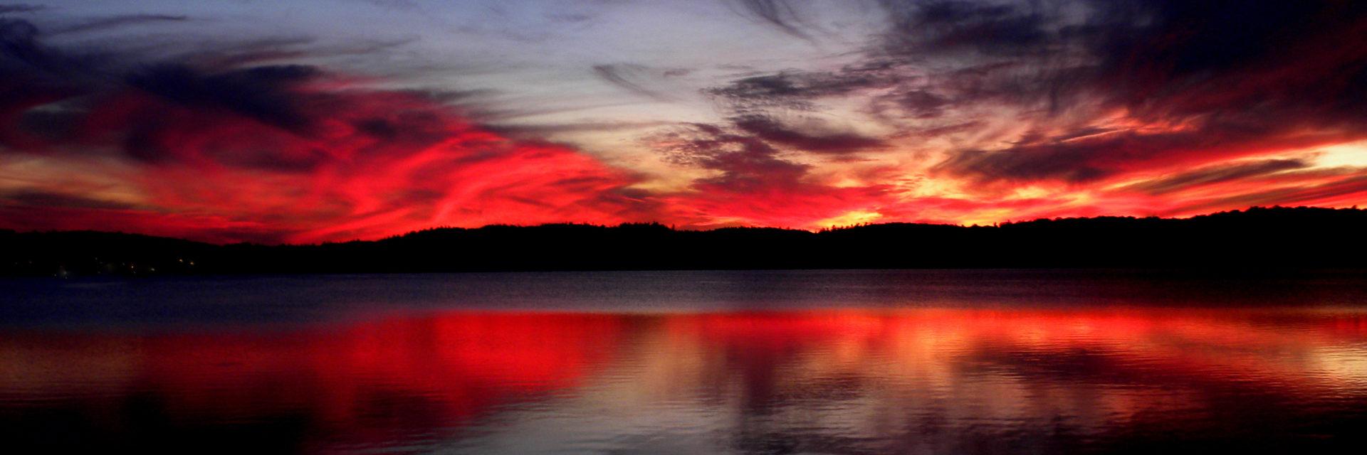 Sunset, Lake Superior