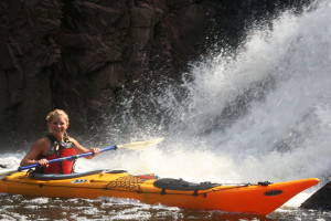 Kayaking, waterfalls, Lake Superior, Montreal River